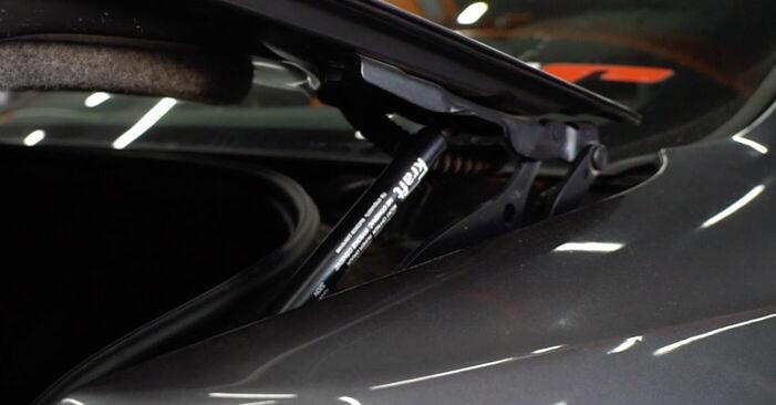 Heckklappendämpfer Ihres BMW E92 330xd 3.0 2004 selbst Wechsel - Gratis Tutorial