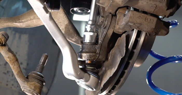 Changing Control Arm on BMW 3 Coupe (E92) 330d 3.0 2009 by yourself