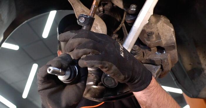 Schritt-für-Schritt-Anleitung zum selbstständigen Wechsel von BMW E92 2007 325i 2.5 Spurstangenkopf