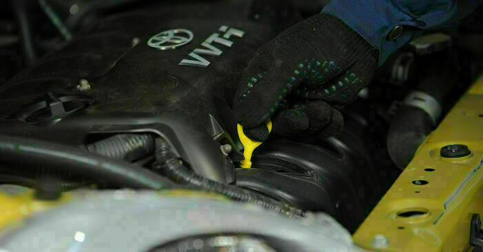 Schritt-für-Schritt-Anleitung zum selbstständigen Wechsel von Toyota Yaris p1 2005 1.5 (NCP13_) Ölfilter
