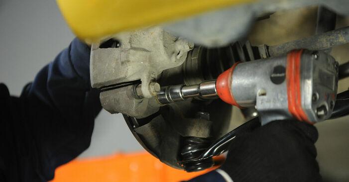 Wie schwer ist es, selbst zu reparieren: Radlager Toyota Yaris p1 1.0 (SCP10_) 2005 Tausch - Downloaden Sie sich illustrierte Anleitungen