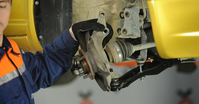 Como trocar Rolamento da Roda no Toyota Yaris p1 1999 - manuais gratuitos em PDF e vídeo
