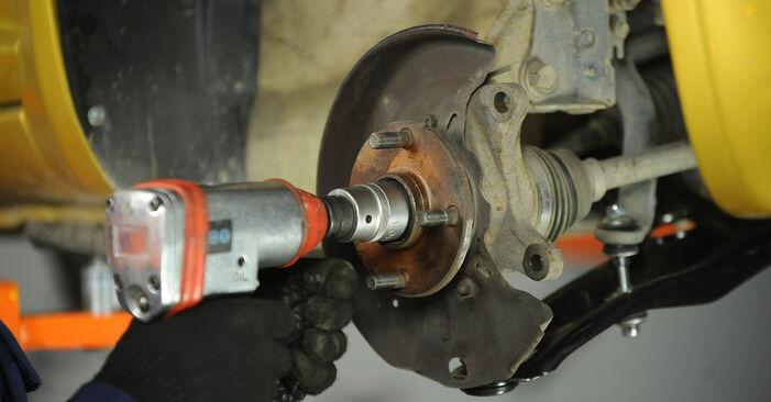 Schritt-für-Schritt-Anleitung zum selbstständigen Wechsel von Toyota Yaris p1 2005 1.5 (NCP13_) Radlager