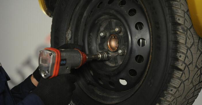 Steg-för-steg-rekommendationer för att byta Toyota Yaris p1 2005 1.5 (NCP13_) Hjullager på egen hand