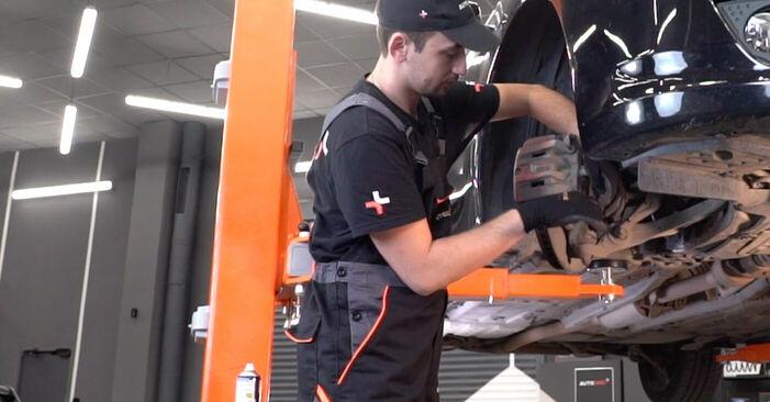 Πόσο διαρκεί η αντικατάσταση: Τακάκια Φρένων στο Honda Accord VIII CU 2016 - ενημερωτικό εγχειρίδιο PDF