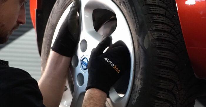 Wie schwer ist es, selbst zu reparieren: Bremsbeläge NISSAN LEAF Elektrik 2016 Tausch - Downloaden Sie sich illustrierte Anleitungen