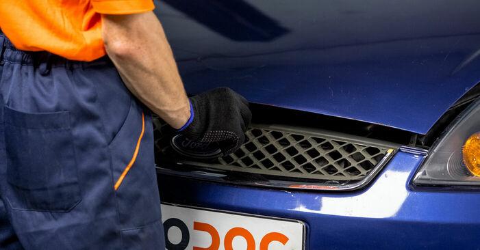 How to change Strut Mount on FORD Fiesta Mk5 Hatchback (JH1, JD1, JH3, JD3) 2003 - tips and tricks