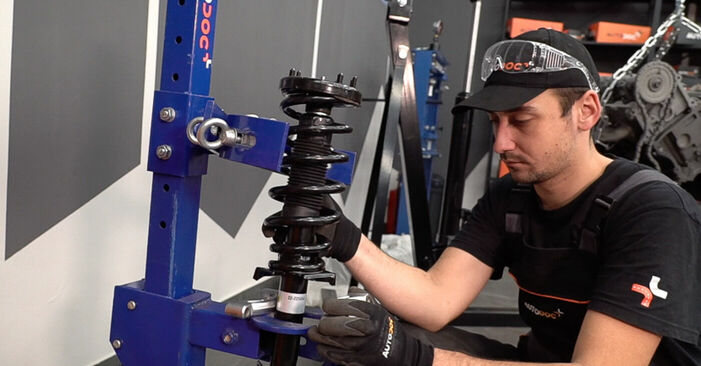 Comment changer Coupelle d'Amortisseur sur Honda Accord VIII CU 2008 - Manuels PDF et vidéo gratuits