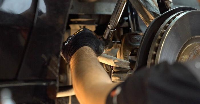 Πόσο διαρκεί η αντικατάσταση: Βάση Αμορτισέρ στο Honda Accord VIII CU 2016 - ενημερωτικό εγχειρίδιο PDF