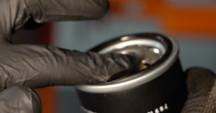 PEUGEOT 107 2007 Ölfilter - Anleitung zum selber Austauschen