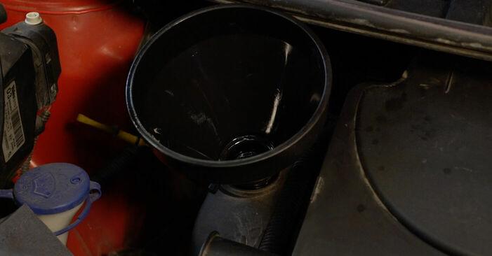 Wie man PEUGEOT 107 1.0 2009 Ölfilter wechselt - Einfach nachzuvollziehende Tutorials online