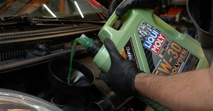 Wie man Ölfilter beim PEUGEOT 107 2010 austauscht – Downloaden Sie sich PDF-Anleitungen und Video-Tutorials