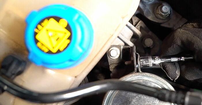 FIAT BRAVA 1.4 Degvielas filtrs nomaiņa: tiešsaistes ceļveži un video pamācības