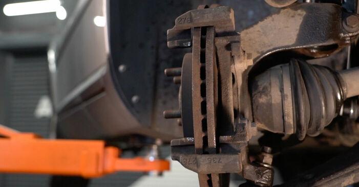 V50 (MW) 1.8 FlexFuel 2004 1.6 D Bremsscheiben - Handbuch zum Wechsel und der Reparatur eigenständig