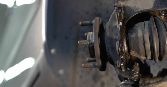 Wie Bremsscheiben Volvo v50 mw 2.0 D 2003 tauschen - Kostenlose PDF- und Videoanleitungen