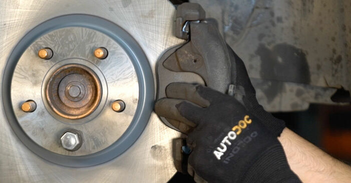Bremsscheiben Ihres Volvo v50 mw 2.0 D 2011 selbst Wechsel - Gratis Tutorial
