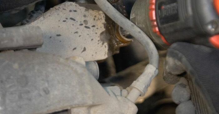 Volvo v50 mw 1.6 D 2005 Piekare nomaiņa: bezmaksas remonta rokasgrāmatas