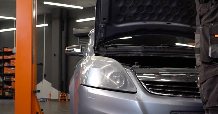 How to change Brake Pads on Zafira b a05 2005 - free PDF and video manuals