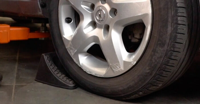 How to replace OPEL ZAFIRA B (A05) 1.9 CDTI (M75) 2006 Brake Pads - step-by-step manuals and video guides