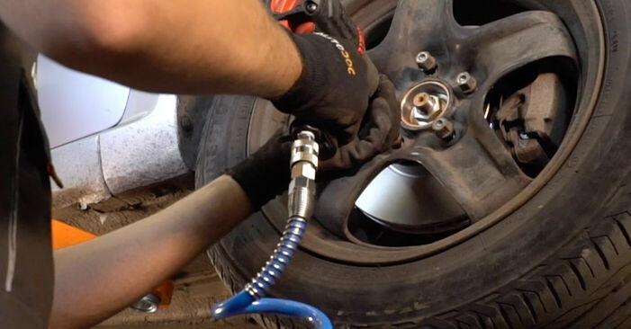 Changing of Brake Pads on Zafira b a05 2013 won't be an issue if you follow this illustrated step-by-step guide