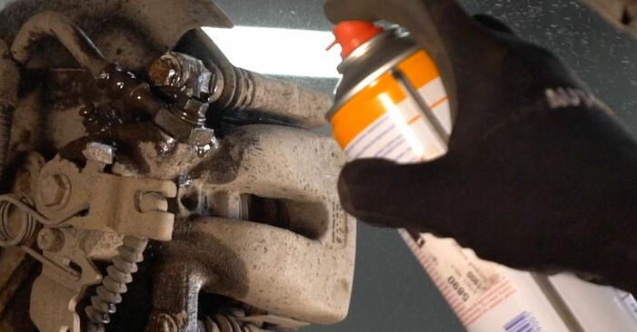 OPEL ZAFIRA 2012 Bromsskivor utbytesmanual att följa steg för steg