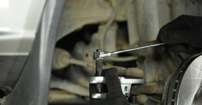 Spurstangenkopf Ihres Nissan X Trail t30 2.2 dCi 4x4 2009 selbst Wechsel - Gratis Tutorial