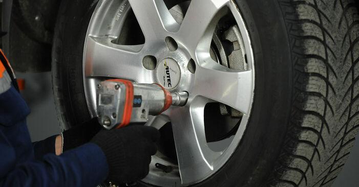 Spurstangenkopf Nissan X Trail t30 2.5 4x4 2003 wechseln: Kostenlose Reparaturhandbücher