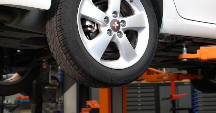 Substituição de Toyota Auris e15 2.0 D-4D (ADE150_) 2008 Discos de Travão: manuais gratuitos de oficina