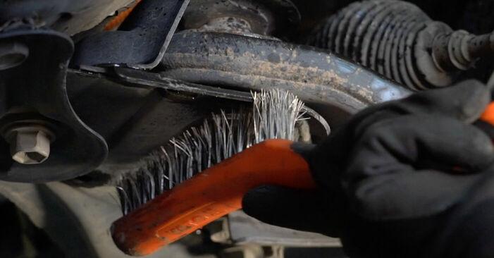 Querlenker Toyota Auris e15 1.6 (ZRE151_) 2008 wechseln: Kostenlose Reparaturhandbücher