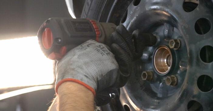 C1 (PM_, PN_) 1.0 2006 -auton Pyöränlaakerit: tee se itse -korjaamokäsikirja