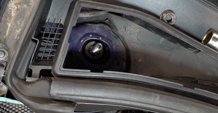 Wie Federn Peugeot 208 1 1.4 HDi 2012 tauschen - Kostenlose PDF- und Videoanleitungen
