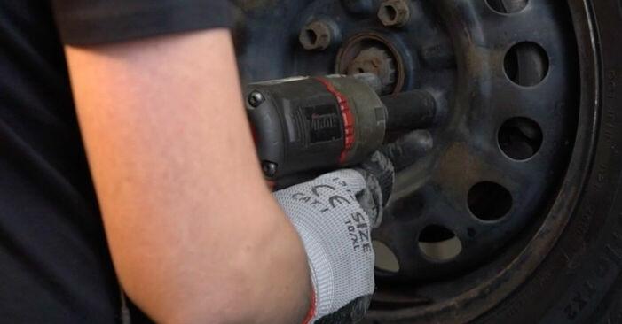 Wie CITROËN C1 1.0 2009 Bremsbeläge ausbauen - Einfach zu verstehende Anleitungen online