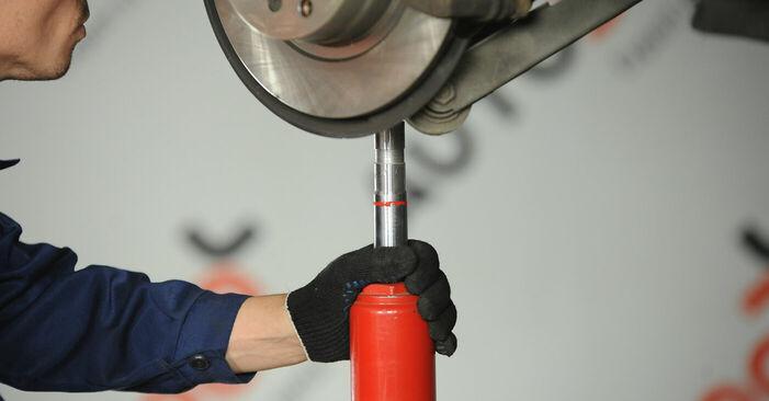 Wie BMW 3 SERIES 325i 2.5 2010 Stoßdämpfer ausbauen - Einfach zu verstehende Anleitungen online