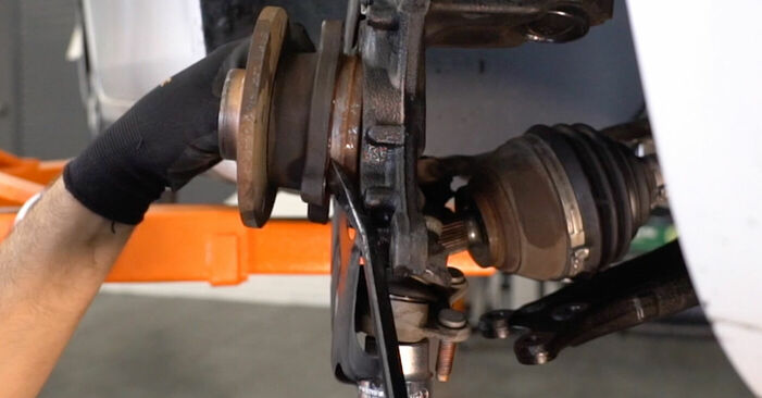 Radlager Ihres BMW X3 E83 2.0 d 2011 selbst Wechsel - Gratis Tutorial