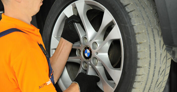 Wechseln Radlager am BMW X3 (E83) 3.0 i xDrive 2006 selber