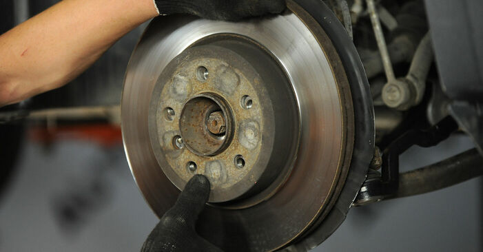 Austauschen Anleitung Radlager am BMW X3 E83 2004 2.0 d selbst