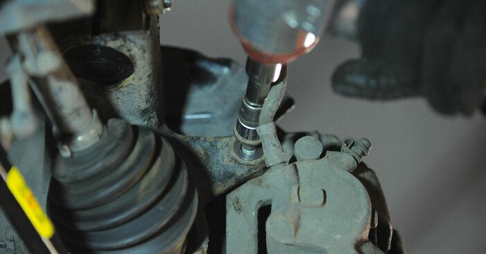 Schritt-für-Schritt-Anleitung zum selbstständigen Wechsel von BMW X3 E83 2007 3.0 sd Radlager