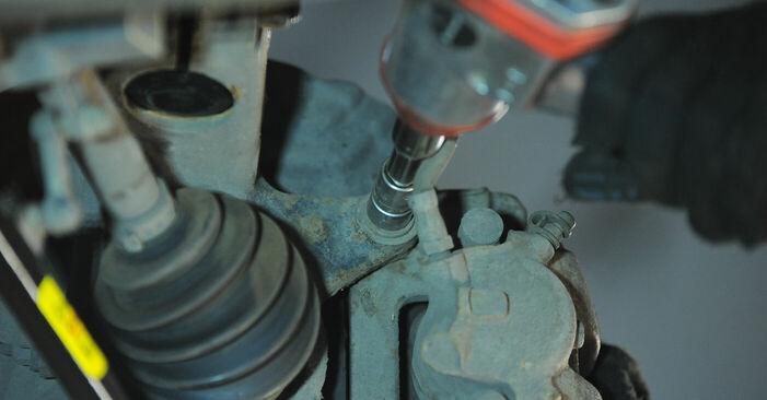 Wie schwer ist es, selbst zu reparieren: Radlager BMW X3 E83 2.0 i 2009 Tausch - Downloaden Sie sich illustrierte Anleitungen