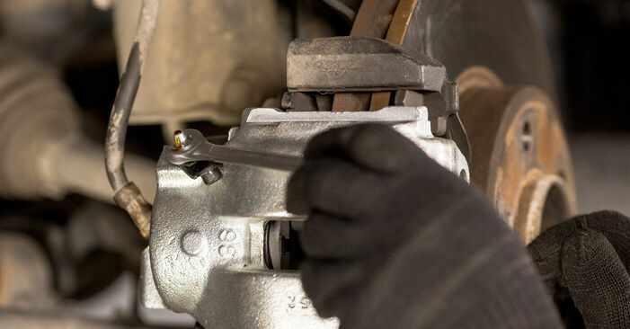 Austauschen Anleitung Bremssattel am BMW E53 2002 3.0 d selbst
