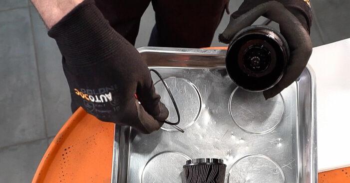 Tausch Tutorial Ölfilter am ALFA ROMEO 159 Sportwagon (939) 2009 wechselt - Tipps und Tricks