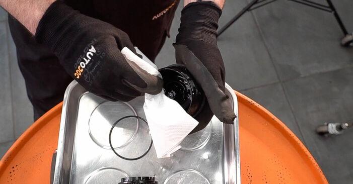 Schritt-für-Schritt-Anleitung zum selbstständigen Wechsel von Alfa Romeo 159 Sportwagon 2010 2.4 JTDM (939.BXM1B) Ölfilter