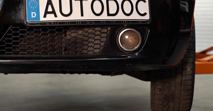 Wie Luftfilter Alfa Romeo 159 Sportwagon 1.9 JTDM 16V 2005 tauschen - Kostenlose PDF- und Videoanleitungen