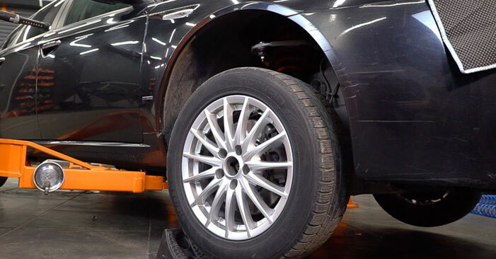 Wechseln Bremsbeläge am ALFA ROMEO 159 Sportwagon (939) 1.9 JTDM 8V 2008 selber