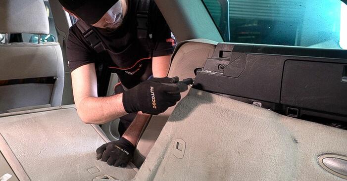Wie Federn ALFA ROMEO 159 Sportwagon (939) 2.4 JTDM 2006 austauschen - Schrittweise Handbücher und Videoanleitungen
