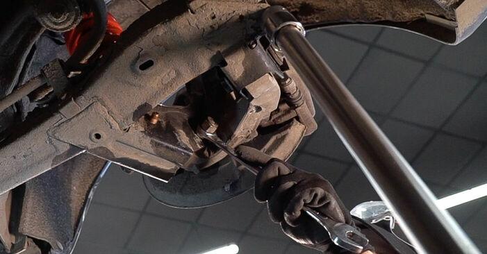 Wechseln Federn am ALFA ROMEO 159 Sportwagon (939) 1.9 JTDM 8V 2008 selber