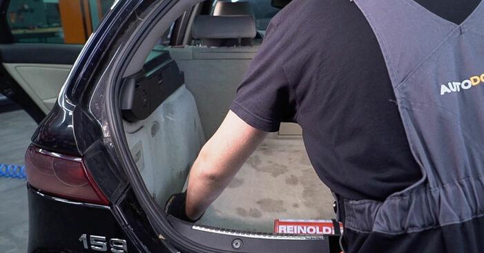 Schritt-für-Schritt-Anleitung zum selbstständigen Wechsel von Alfa Romeo 159 Sportwagon 2010 2.4 JTDM (939.BXM1B) Federn