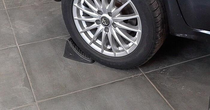 Wie man ALFA ROMEO 159 Sportwagon (939) 1.9 JTDM 16V 2006 Bremsscheiben wechselt - Schritt-für-Schritt-Leitfäden und Video-Tutorials