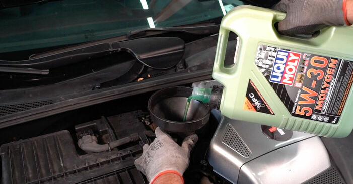 Ölfilter Ihres Lexus RX XU30 3.3 400h AWD 2005 selbst Wechsel - Gratis Tutorial