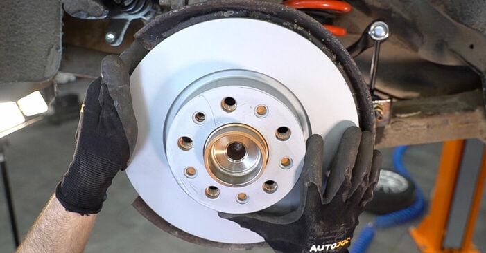 Austauschen Anleitung Radlager am Alfa Romeo 159 Sportwagon 2007 1.9 JTDM 16V selbst