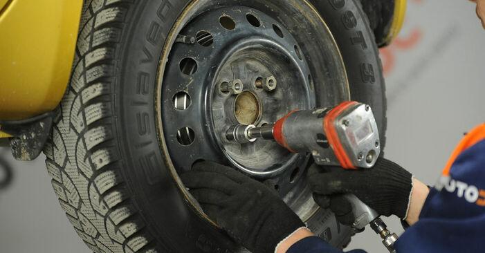 Substituindo Tambor de Travão em Toyota Yaris p1 2002 1.0 (SCP10_) por si mesmo